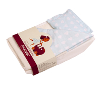 Moover Pram Bedding - Blue