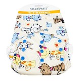 Snazzipants All In One Reusable Nappy - Cat