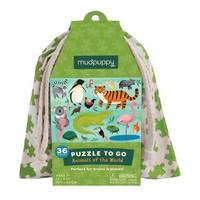 Mudpuppy: Animals of the World - Puzzle To Go