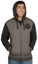 Overwatch Founding Member Varsity Zip-up Hoodie (Large)