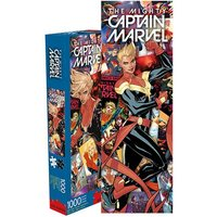 Marvel: 1,000 Piece Slim Puzzle - Captain Marvel Collage