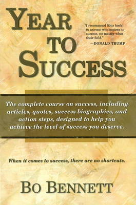 Year to Success by Robert (Bo) Bennett image