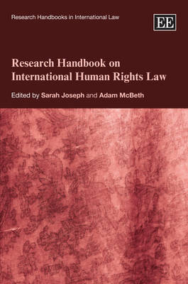 Research Handbook on International Human Rights Law image
