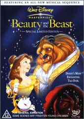 Beauty & The Beast - Special Limited Edition on DVD