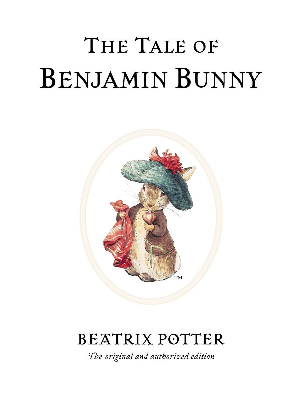 The Tale of Benjamin Bunny by Beatrix Potter image
