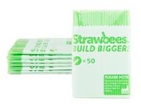 Strawbees Straws Refill Green (50pk)
