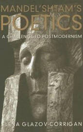 Mandel'shtam's Poetics by Elena Glazov-Corrigan image