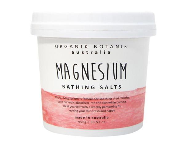 Organik Botanik Splotch Magnesium Bath Salt Tub (950g)