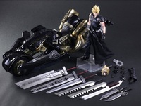 Final Fantasy: Cloud Strife & Fenrir - Play Arts Kai Figure Set image