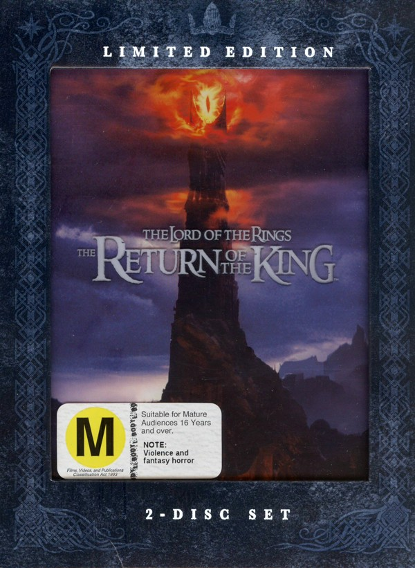 The Lord Of The Rings - The Return Of The King: Limited Edition (2 Disc Set) on DVD image