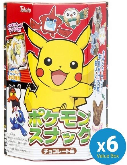 Pokemon (Chocolate) Snack 25g - 6pk