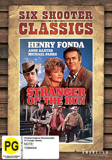 Stranger On The Run (Six Shooter Classics) on DVD