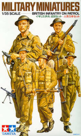 Tamiya British Infantry on Patrol 1:35 Model Kit image