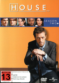 House, M.D. - Season 2 (6 Disc Slimline Set) on DVD image