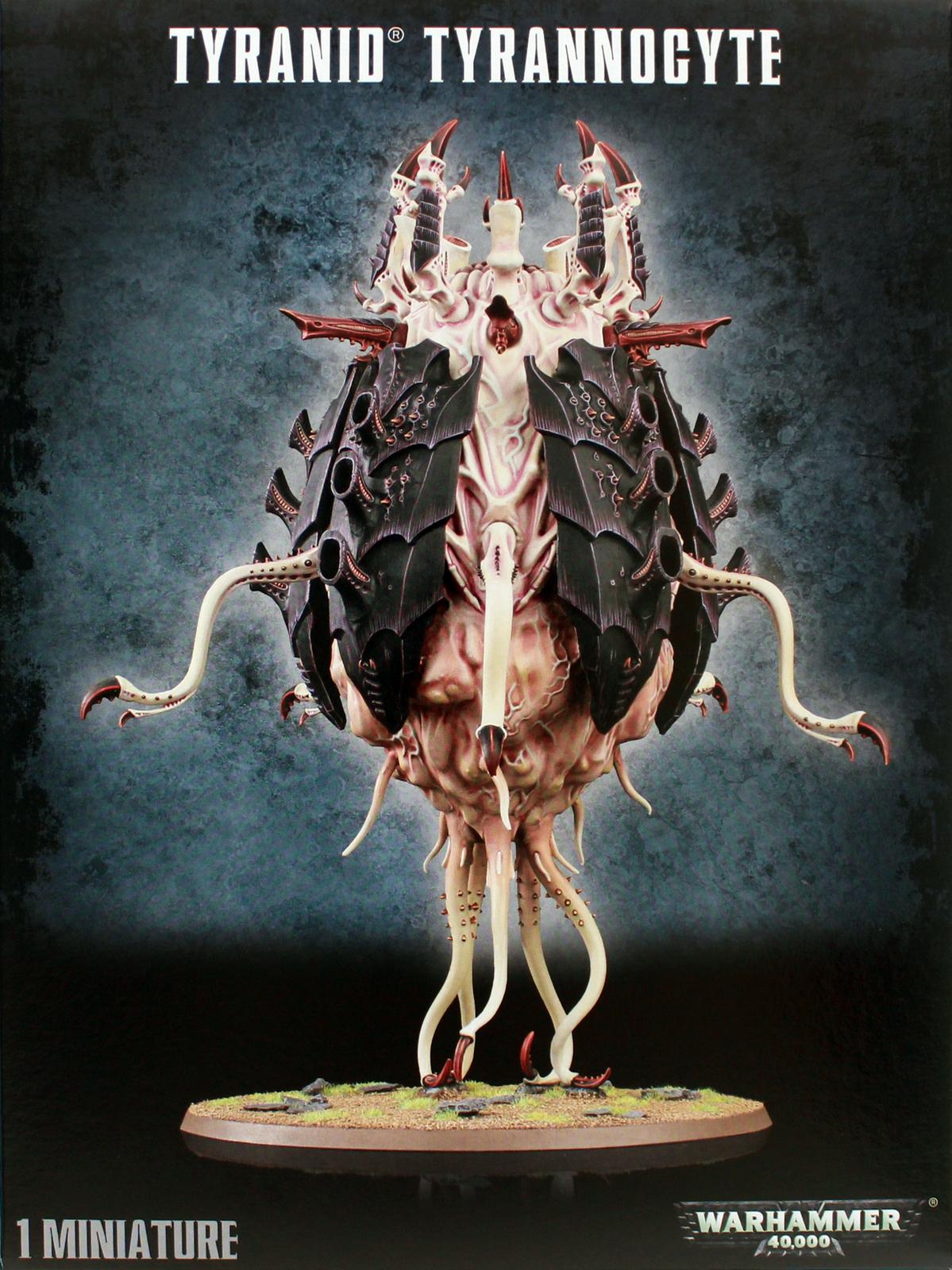 Warhammer 40,000 Tyranid Tyrannocyte image