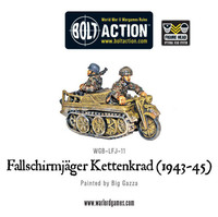 German Airborne Fallschirmjager Kettenkrad