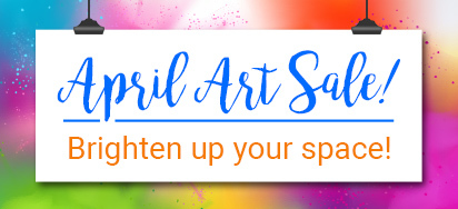 Ready to Hang Artwork UP TO 50% OFF!
