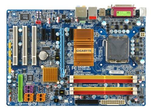 GIGABYTE GA-P35-DS3 Intel P35 + ICH9 Chipset image