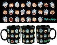 Rick and Morty Faces Mug