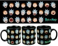 Rick and Morty Faces Mug image