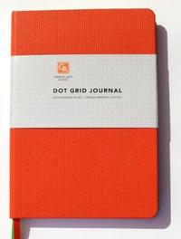 Dot Grid Journal - Flame by Graphic Arts Books