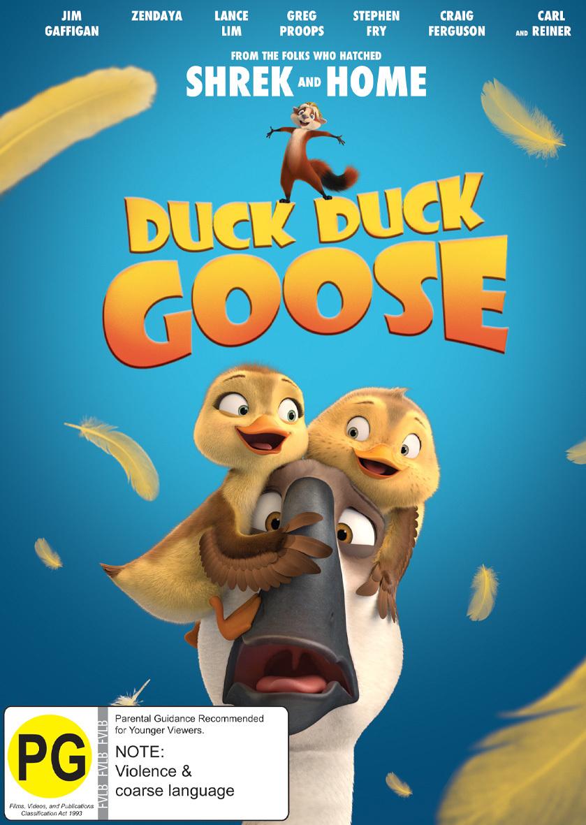 Duck Duck Goose on DVD image
