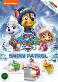 Paw Patrol: Snow Patrol on DVD image