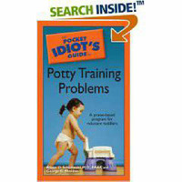 The Pocket Idiot's Guide to Potty Training Problems by Alison Schonwald image