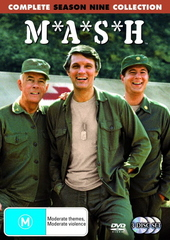 MASH - Complete Season 9 Collection (3 Disc Set) (New Packaging) on DVD