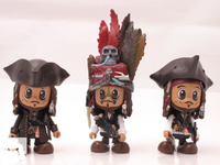 "Pirates of the Caribbean 4 Cosbaby 3"" Vinyl - SET 6 image"