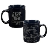 Star Trek Original Series Enterprise Mug