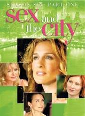 Sex And The City - Season 6 (5 Disc) on DVD