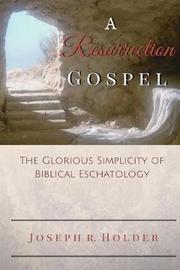 A Resurrection Gospel by Joseph R Holder image