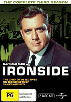 Ironside - Season 3 Fatpack Version (7 Disc Set) on DVD image