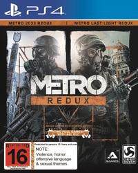 Metro Redux for PS4