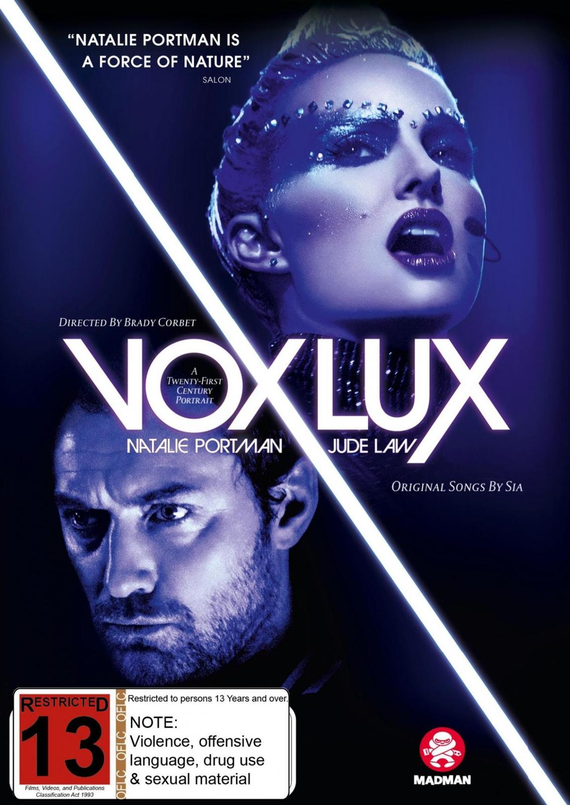 Vox Lux on DVD image