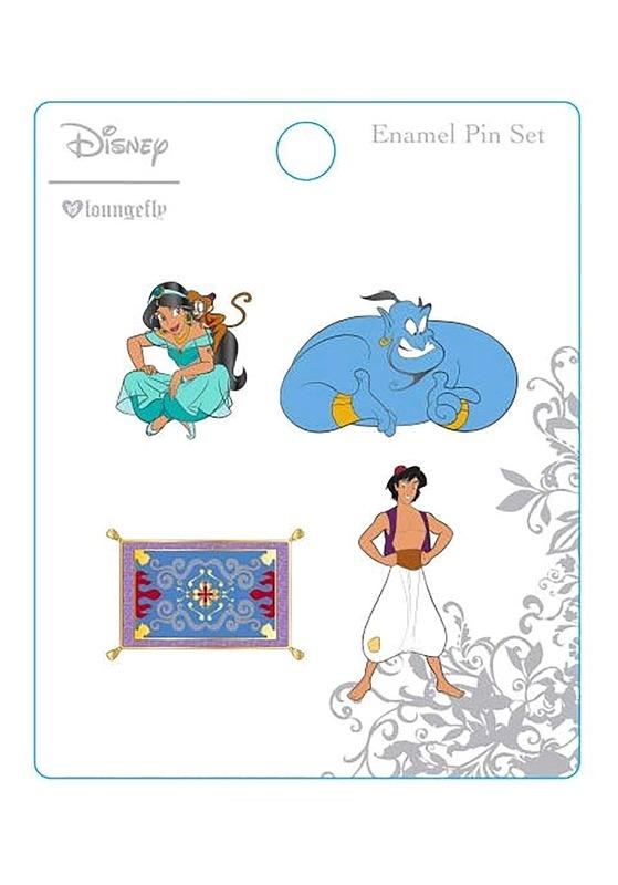 Loungefly: Aladdin - Enamel Pin 4-pack