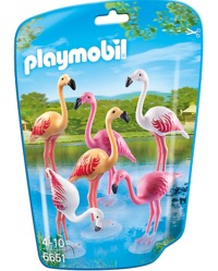 Playmobil: Zoo Theme - Flock of Flamingos (6651)