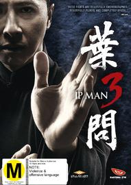 Ip Man 3 on DVD