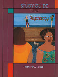 Exploring Psychology Study Guide by David G Myers image