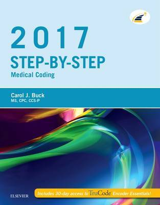 Step-by-Step Medical Coding, 2017 Edition by Carol J Buck image