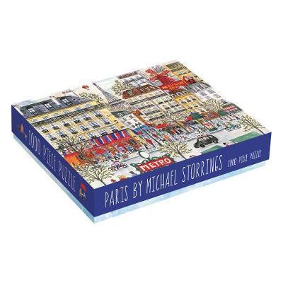 Galison: 1000 Pcs Puzzle - Michael Storrings Paris