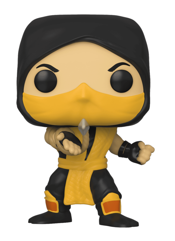 Mortal Kombat: Scorpion (Klassic Ver.) - Pop! Vinyl Figure