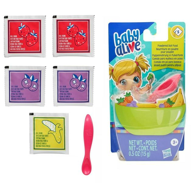 Baby Alive: Powdered Doll Food (5 Pack)