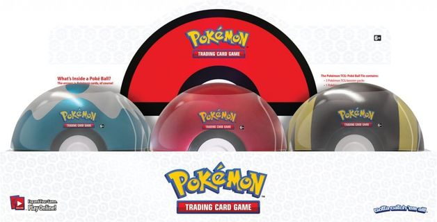 Pokemon TCG: Poké Ball Tin 2020