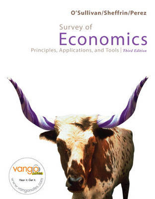 Survey of Economics: Principles, Applications, and Tools by Arthur O'Sullivan image