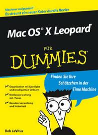 Mac OS X Leopard Fur Dummies by Bob LeVitus image