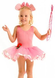 Fairy Girls - Angelina Ballerina Tutu Dress (Small, age 1-4)