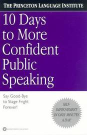10 Days to More Confident Public Speaking by Philip Lief Group image