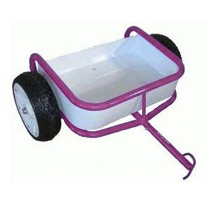 Tri-ang Tuff Trike Trailer - Pink image
